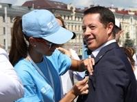 В Казани состоялось открытие Водной аллеи