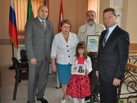 В Крыму наградили призера конкурса социальной экологической рекламы «Чистый взгляд – 2015»
