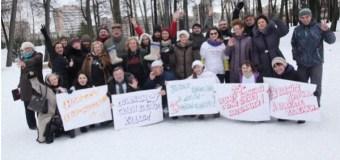 Редакция «Казанских ведомостей» отметила свой предстоящий юбилей соревнованием по бросанию валенок