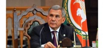 Рустам Минниханов на традиционной встрече с представителями средств массовой информации подвёл итоги 2016 года