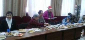 К ветеранам журналистики пришел Дед Мороз
