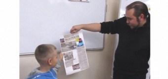 Сотрудники «Казанских ведомостей» провели мастер-класс для пациентов ДРКБ