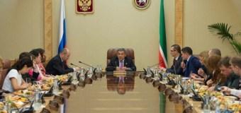 Президент Татарстана встретился с представителями республиканских и федеральных средств массовой информации