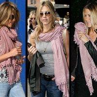 Hoe draag ik mijn sjaal, Jennifer Aniston