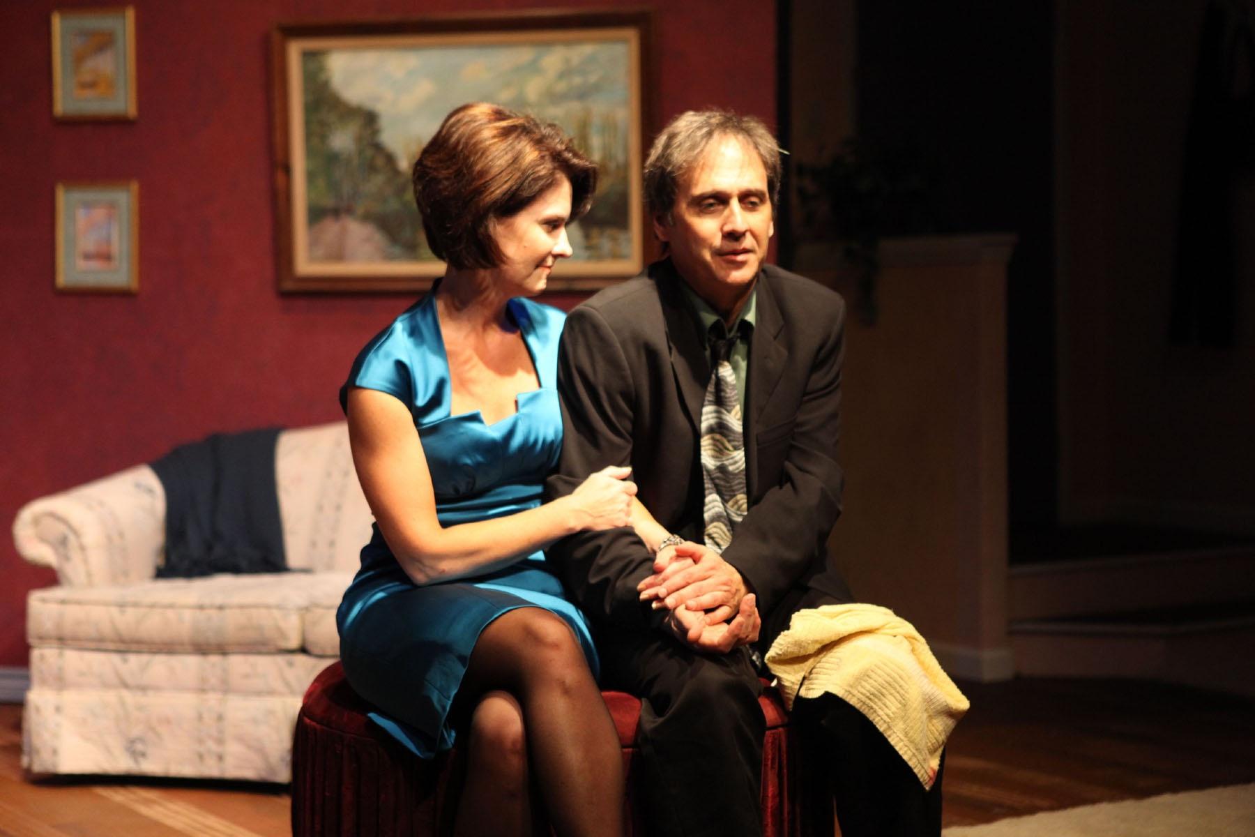 Marcia Carroll,Scott Latham: George Wada photo