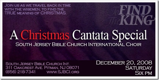 picture regarding Free Printable Christmas Cantata known as Xmas Cantata 08: Data Advertising Media