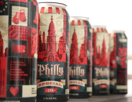Iron Hill Brewery Tallboy Cans - Philly Special IPA