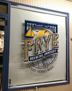 Frye Brewing Company brewery entrance