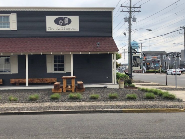 Exterior Image of The Arlington Restaurant in Ship Bottom, New Jersey