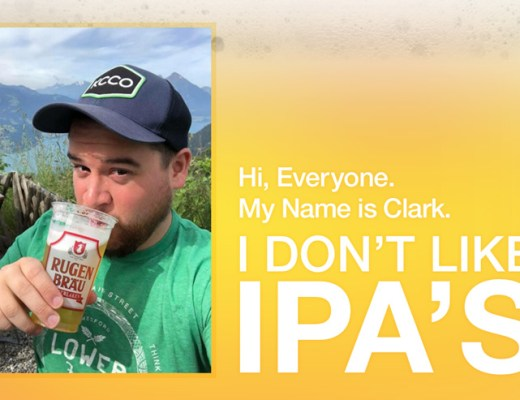 Hi, Everyone. This is Clark. Clark doesn't like IPA's.