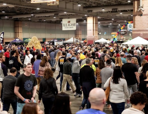 The crowd at the AC Beer Fest - 8 Survival Tips