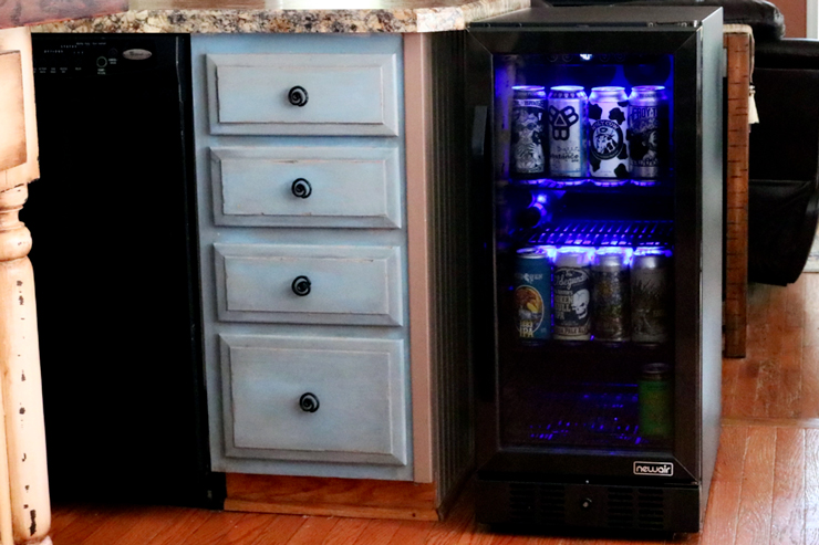 NewAir 15-inch Built-in 96 Can Beverage Fridge