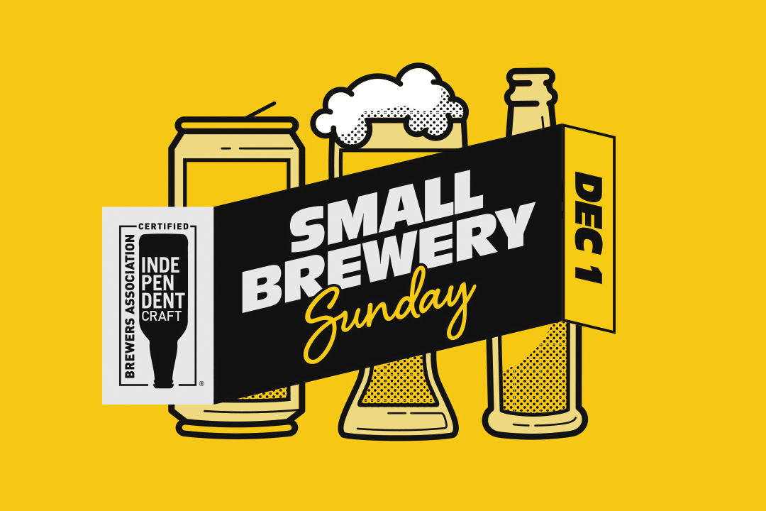 Inaugural Small Brewery Sunday on December 1, 2019