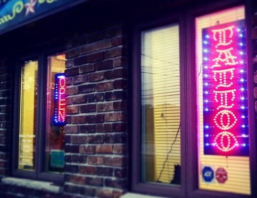 Art Gallery Tattoo - SJBS Podcast Sponsor