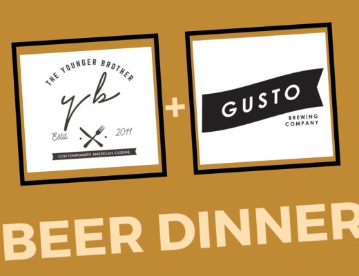 The Younger Brother and Gusto Beer Dinner - St Patrick's Day 2020