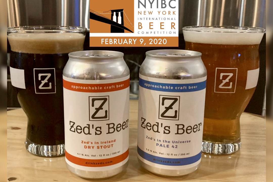 Zed's Beer Named NJ Brewery of the Year at New York International Beer Competition