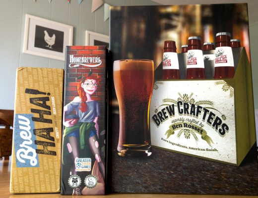 3 Fun Beer Themed Games - Brew Ha! Ha!, Hombrewers, and Brew Masters