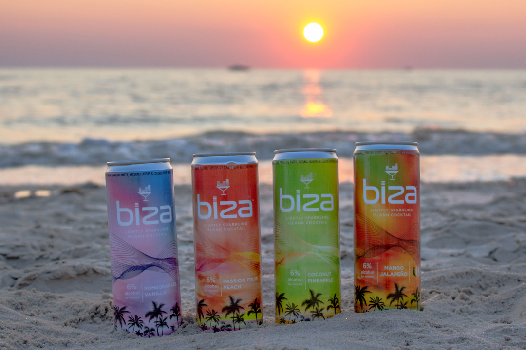 Biza Canned Cocktail Flavors