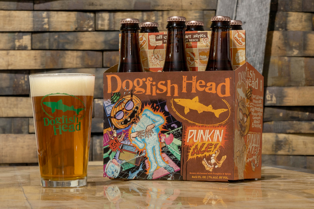Dogfish Head Punkin Ale 2021 Release