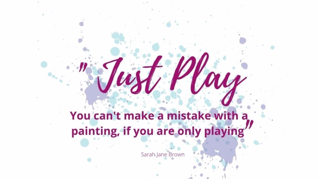 Artist tips: Just play!