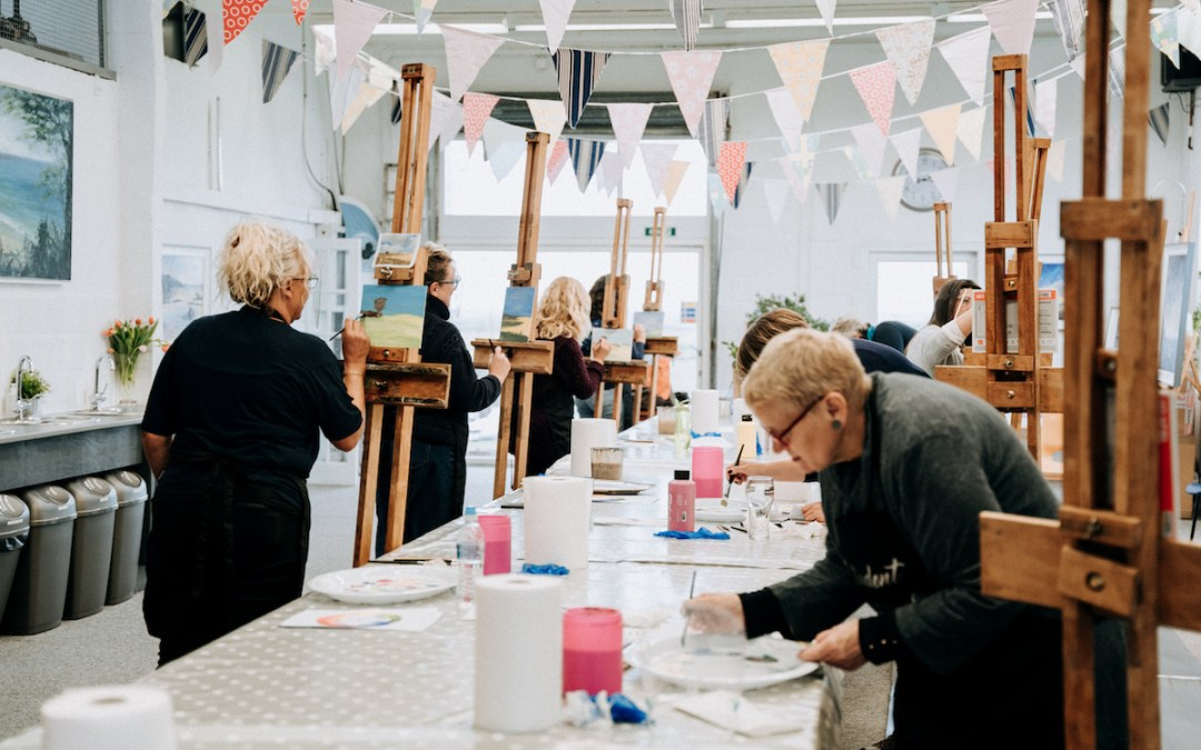 July 2021: Painting Essentials – 1 day beginners workshop with Sarah Jane Brown