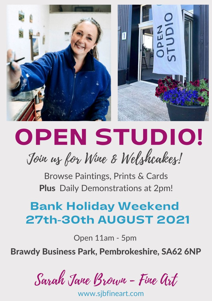 Daily painting demonstrations planned for Open Studio event