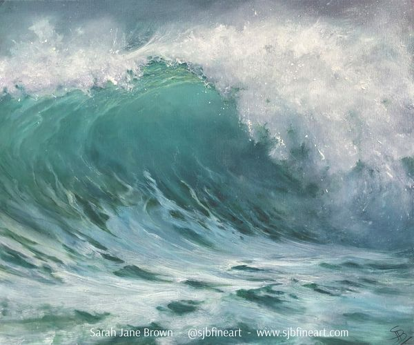 My painting selected for Royal Society of Marine Artists Annual Exhibition 2021!