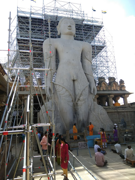 Statue of Bahubali, Shravanabelagola
