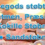 Voks, Kokille og Sandstøbning
