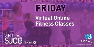 Friday Virtual Fitness Classes