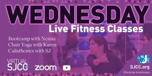 Wednesday Fitness Classes