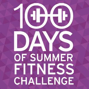 100 Days of Summer Fitness challenge