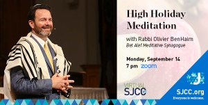 Rosh Hashanah Meditation Sept 14
