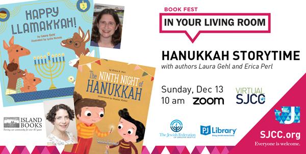Virtual SJCC: PJ Library Hanukkah Storytime