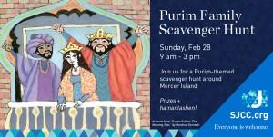 Purim Scavenger Hunt