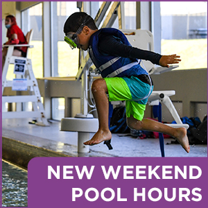 New Weekend Pool Hours