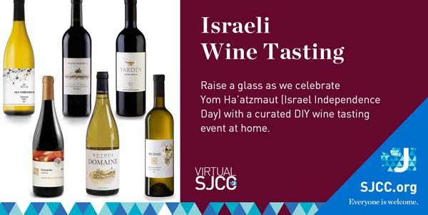 Yom Ha'atzmaut DIY Israeli Wine Tasting