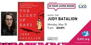 Virtual Book Fest: Judy Batalion