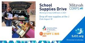 Stuff the Bus School Supplies Drive