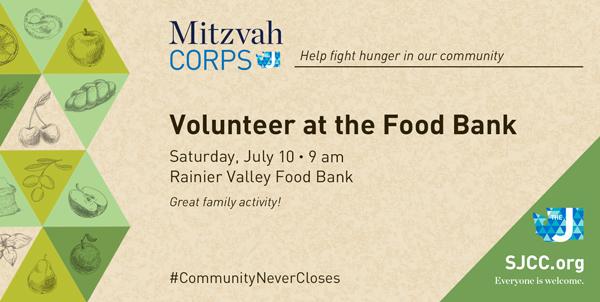 Mitzvah Corps at Rainier Valley Food Bank