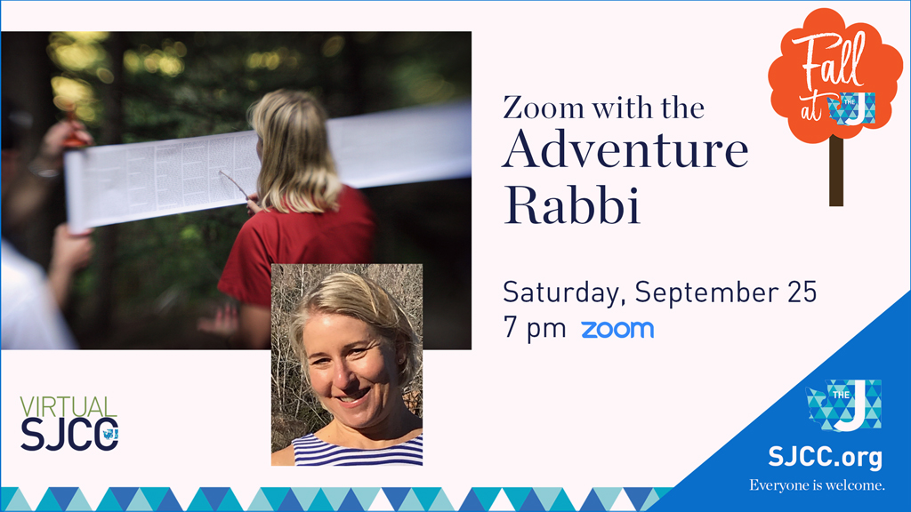 Zoom with the Adventure Rabbi