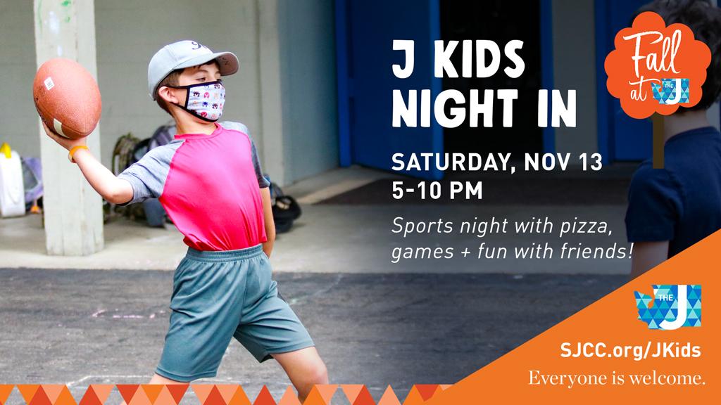 J Kids Night In: Sports Night