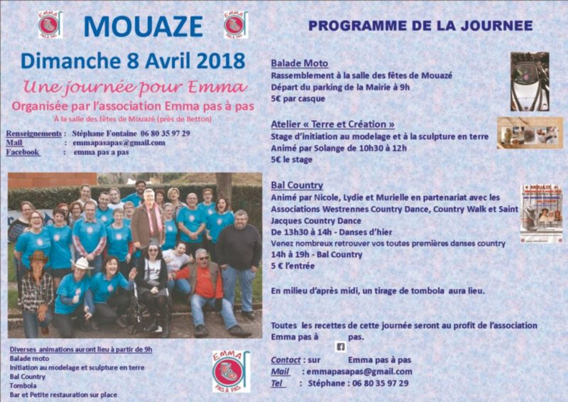 PROGRAMME JOURNEE EMMA 8 04 2018