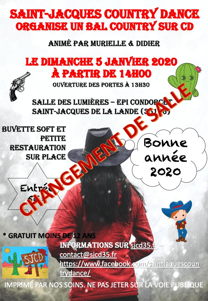 You are currently viewing ATTENTION !!! CHANGEMENT DE SALLE POUR LES 3 ET 5 JANVIER 2020