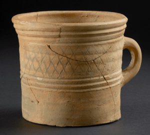 Severn Valley Ware handled tankard found in Alchester