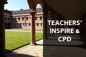 Teachers' Inspire & CPD: Click here to learn about our Teachers' Inspire Programme and the CPD we offer.