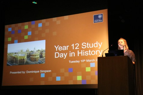 Our Assistant Access and Outreach Officer, Dominique Simpson, talks about Oxford admissions and studying History at university.