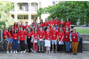 A group picture of our Student Ambassadors, 2019