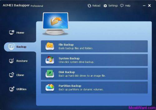 AOMEI Backupper 4.5.1.1 Crack with Professional Keygen [Latest]
