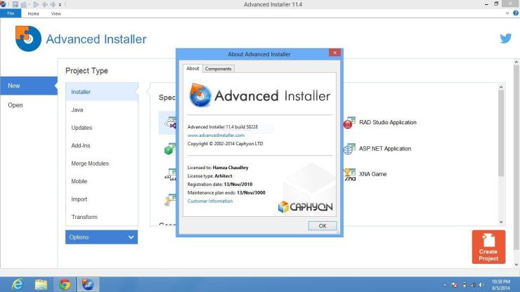 Advanced Installer 17.1.2 Crack & Patch Free Download